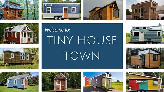 """The """"Mansion"""", a 270 sq ft tiny house on wheels, designed and built by Unchartered Tiny Homes of Phoenix, Arizona."""
