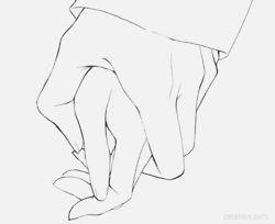 Le sujeté la mano y comenzó el viaje.