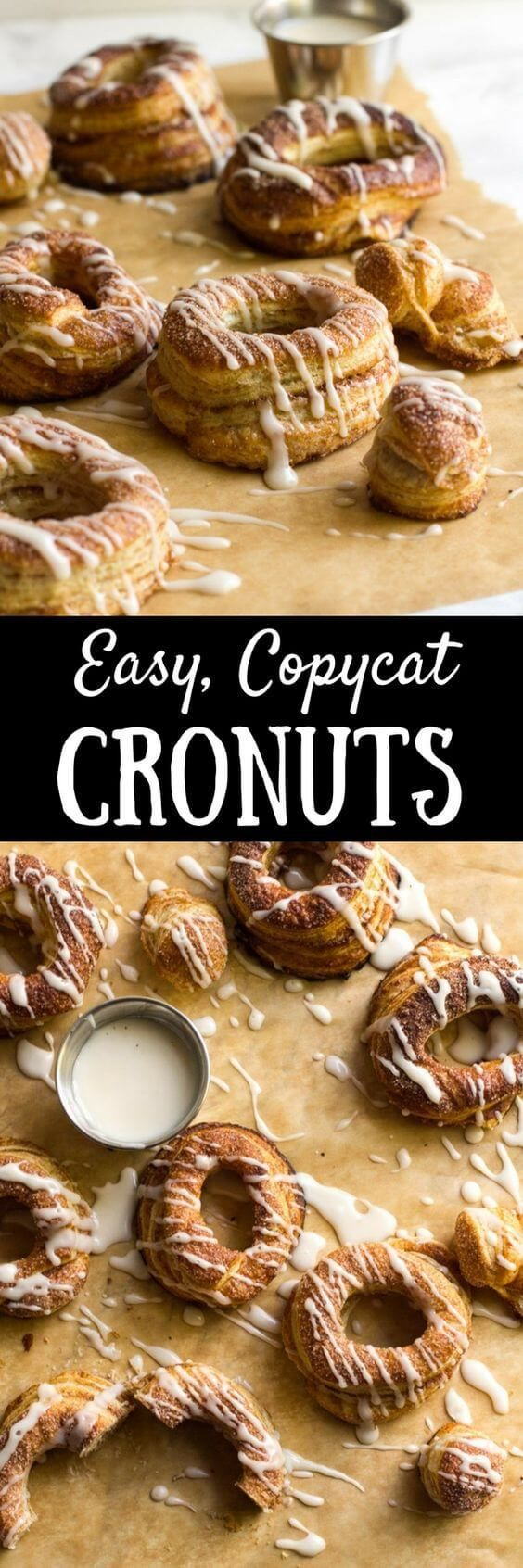 Easy Copycat Cronuts