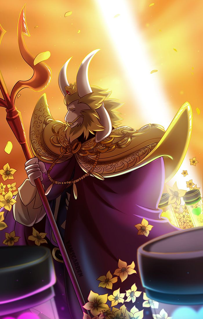 Asgore the King by YAMsgarden on DeviantArt