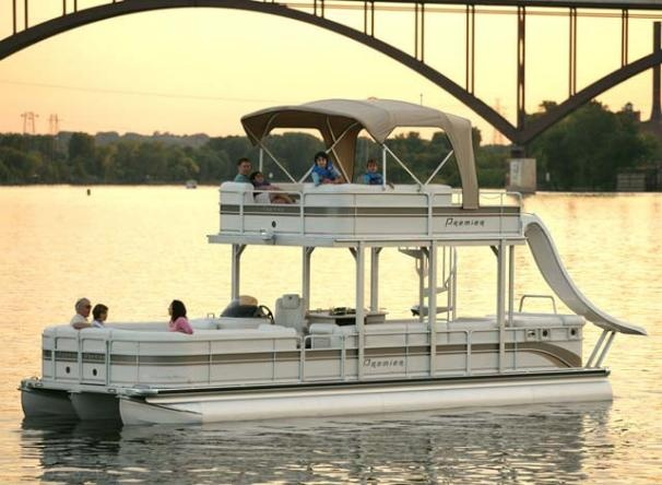 Pontoon Houseboat Kits For Sale | This boat for sale listing is marked as sold! Boat details specific to ...