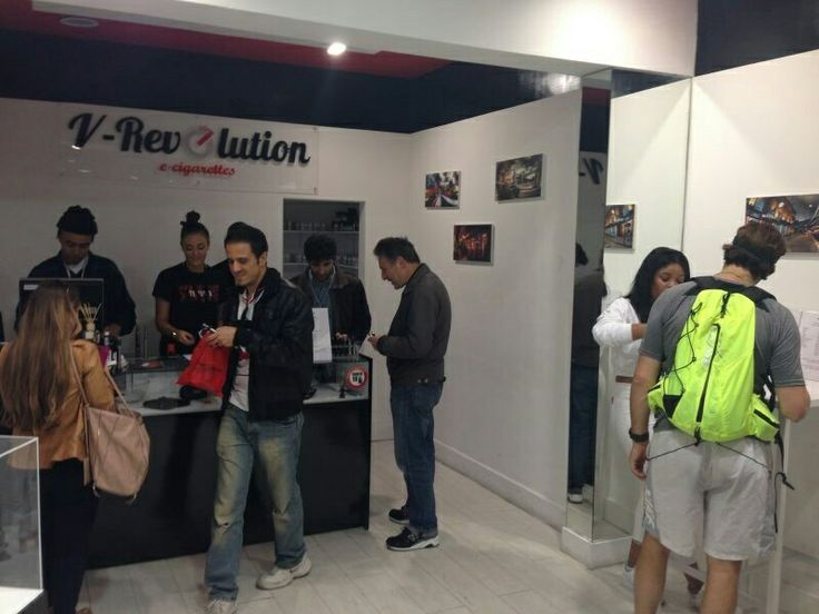 Inside of V-Revolution vape shop in Covent Garden, London. | Vape ...