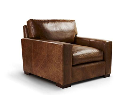 Club Mountain Studio Armchair | Bay Leather Republic