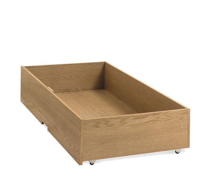 Atlanta Oak Under Bed Drawer