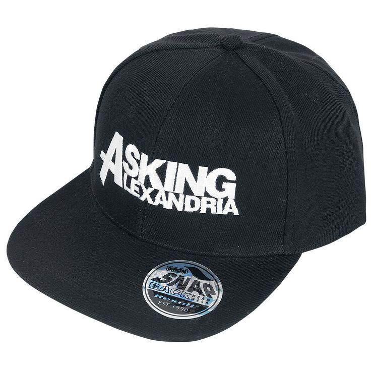 Berretto nero, modello snapback, degli #AskingAlexandria.