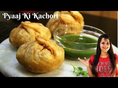 Pyaaj Ki Kachori Recipe in Hindi | Khasta Kachori Recipe in Hindi| Onion kachori | Kachori Chaat - YouTube