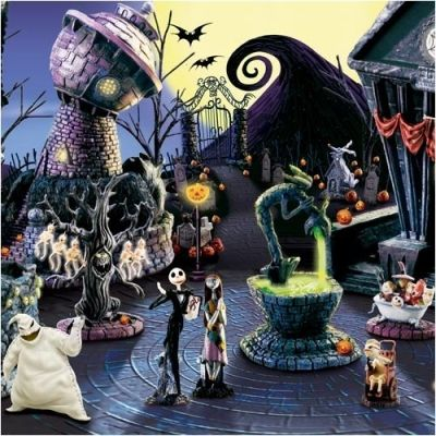 Halloween Town - Trippy - Design2Share, home decorating, interior design, garden tips and resources
