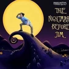 Markiplier's the Nightmare Before Jim | Jim News Fan Art | Funny
