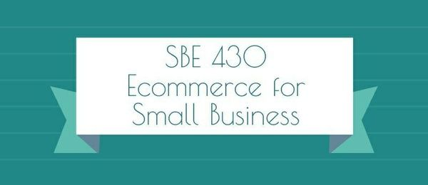 SBE 430 E-commerce for Small Business SBE 430 Week 1 Case Study SBE 430 Week 2 Case Study SBE 430 Week 2 DQ 1, Consumer Attitude SBE 430 Week 2 DQ 2, Web 2.0  SBE 430 Week 3 Case Study SBE 430 Week 3 DQ 1, Learning from the Dot Com Failure SBE 430 Week 3 DQ 2, E-Business Management Responsibility  SBE 430 Week 4 Case Study SBE 430 Week 4 DQ 1, Dell gets closer to its customers online SBE 430 Week 4 DQ 2, E-Marketing Plan SBE 430 Week 5 Case Study  SBE 430 Week 5 DQ 1, E-CRM programs