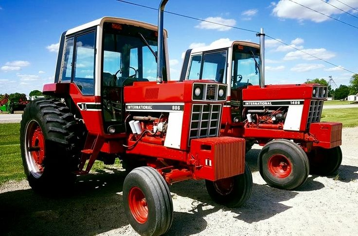 International Harvester 986 Tractor : Ih  international harvester s case cubs
