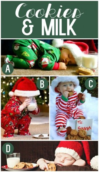 Cute Christmas Pictures with Santa's Cookies {and LOTS more photography inspiration for Christmas!}