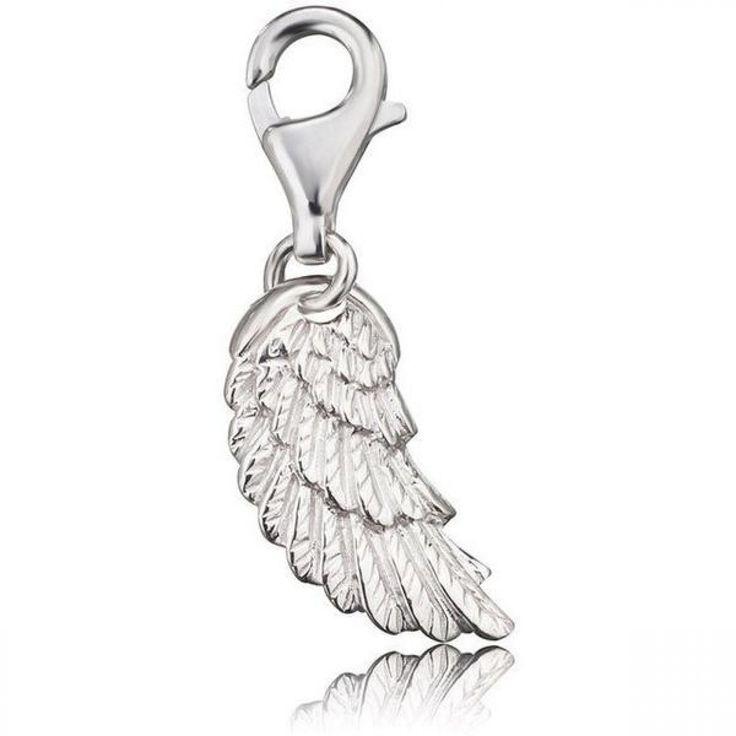 Silver Wing Charm - ENGELSRUFER - JEWELLERY