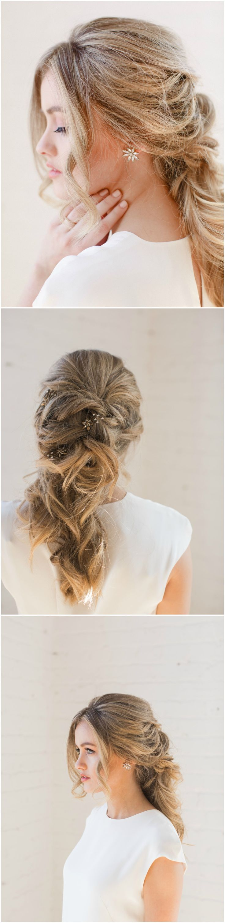 793 best Wedding Hairstyles images on Pinterest