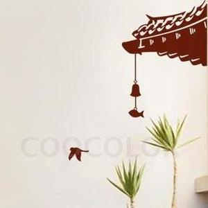 Asian wall decal