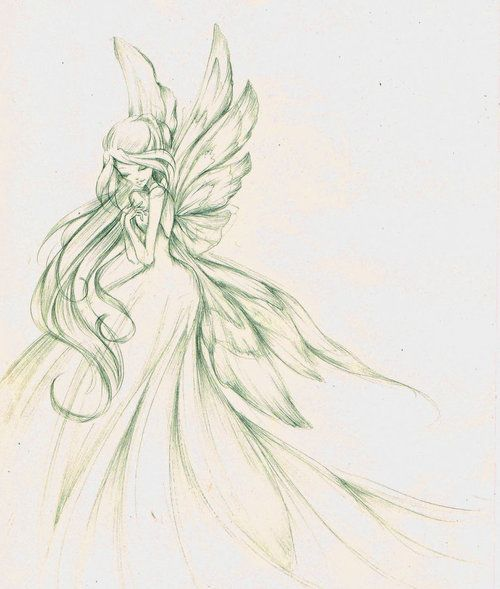 Flora Winx Club beautiful scetch!