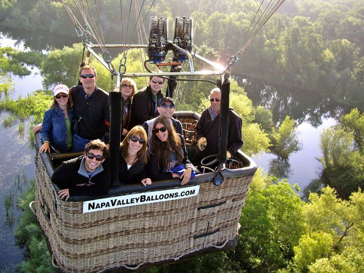 Try a Hot Air Balloon Ride Over Napa Valley