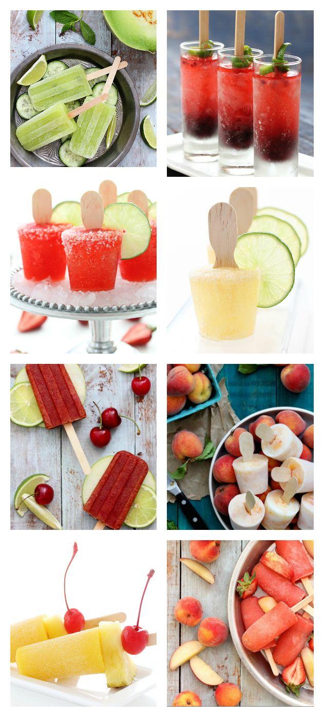 BEACH Treats - 10 Amazing Cocktail Popsicle Recipes! #GHCBeachDays