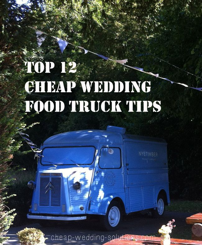 Food Truck Wedding Ideas: 35 Best Images About Yummy Cheap Wedding Food Ideas On