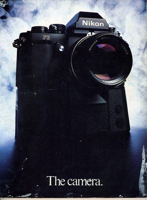 The camera. (Nikon F3) (1982) by Nesster, via Flickr