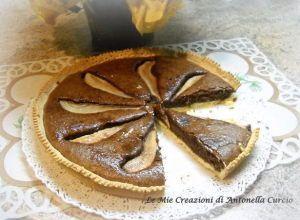 #crostata #pere e #cioccolato  http://www.glutenfreetravelandliving.it/gffd-ricette/