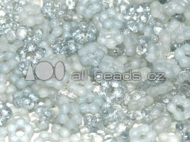 Flower Beads 5 mm Crystal Etched Full Lagoon