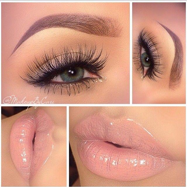 """Stunning  @makeupbycari"""