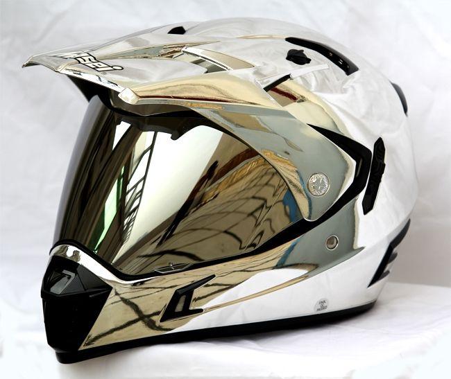 MASEI CHROME 311 ATV MOTOCROSS MOTORCYCLE ICON KTM HELMET - sales@maseihelmets.com