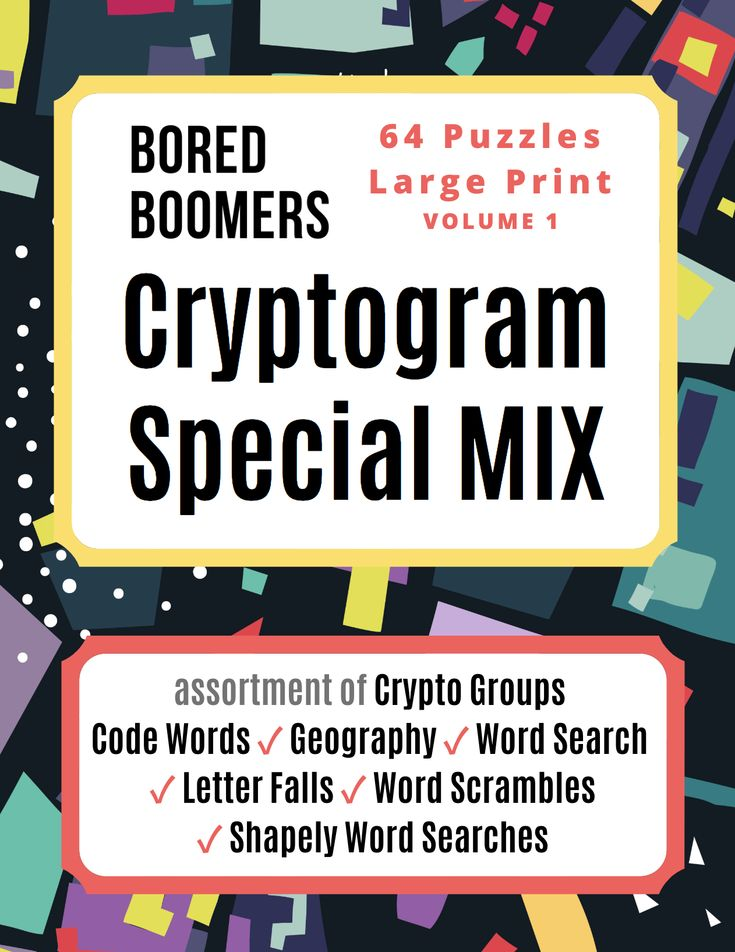 Calling all boomers variety cryptogram puzzle mix out now