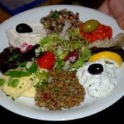 """Griechisches Restaurant Isarvorstadt """"Molos"""" Taverne ohne Meeresrauschen"""
