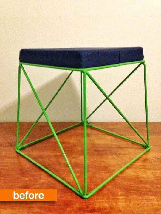 Before & After: Target Stool Transforms into Table