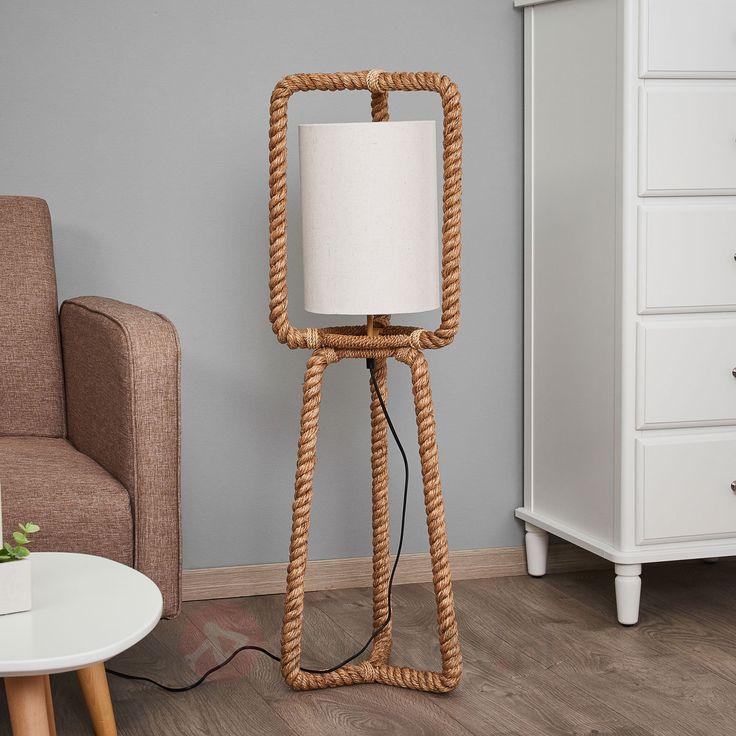 Lampa stojąca Jack w stylu morskim 8553049