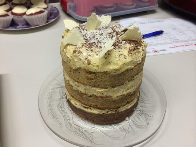 UWS Joshua's pistachio cake #BigCakeBake