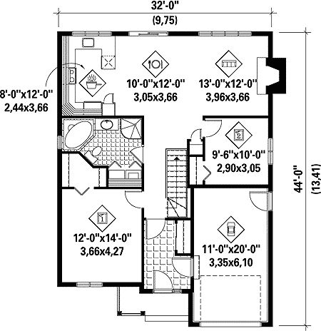 21 best *HOME FLOOR PLANS* images on Pinterest | Country house ...