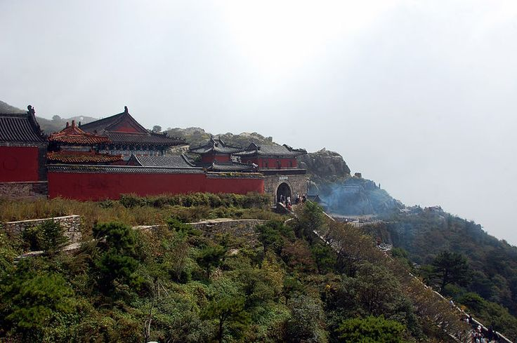 Mount Tai (Tài Shān) — located in Taishan National Park, north of Tai'an in Shandong Province, eastern China