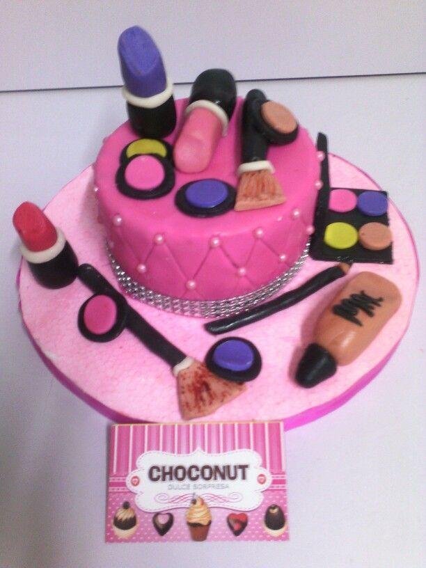 Torta maquillaje