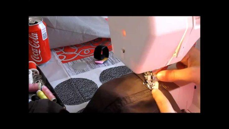 Faire un ourlet de pantalon comme une pro avec la silvercrest couture pour debutant - Faire un ourlet de pantalon ...