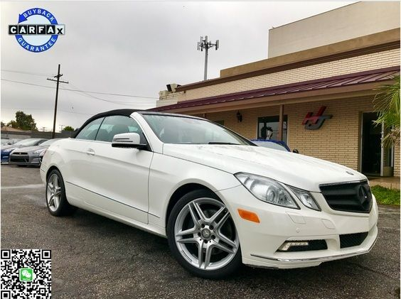 Used 2011 Mercedes-Benz E350 Cabriolet Convertible for sale near you in ROSEMEAD, CA. Get more information and car pricing for this vehicle on Autotrader.
