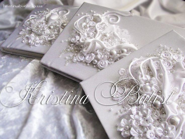 Свадебные альбомф для пожеланий, папки для свидетельстве о браке, фото альбомы