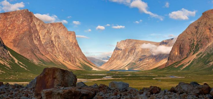 Gorgeous photo of the Torngat Mountains national park in Northern Labrador by Geoff Goodyear