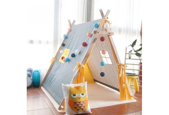 Toddler Play Tent Playhouse Teepee #toddlerplayhouse