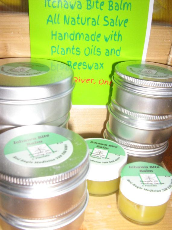 Itchawa Bite Balm Is good for any mosquito bites bug bites, rashes, itchy skin from excema It is a green salve made from Plants that grow