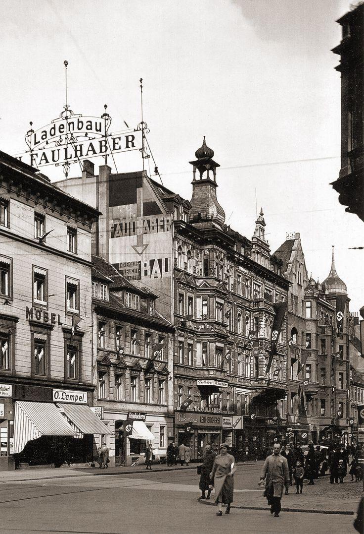 ul. Traugutta Romualda (Kloster Strasse), Wrocław - 1939 rok, stare zdjęcia