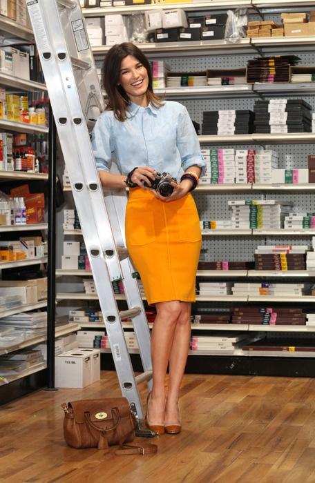 17 Best ideas about Orange Pencil Skirts on Pinterest | Icra ...