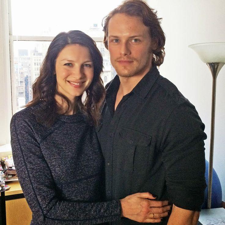 Forastera, la serie. En televisiones de todo el mundo en el 2014: Sam y Caitriona: entrevista para TV Guide