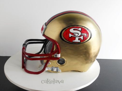 1000 Ideas About 49ers Cake On Pinterest Football Cakes
