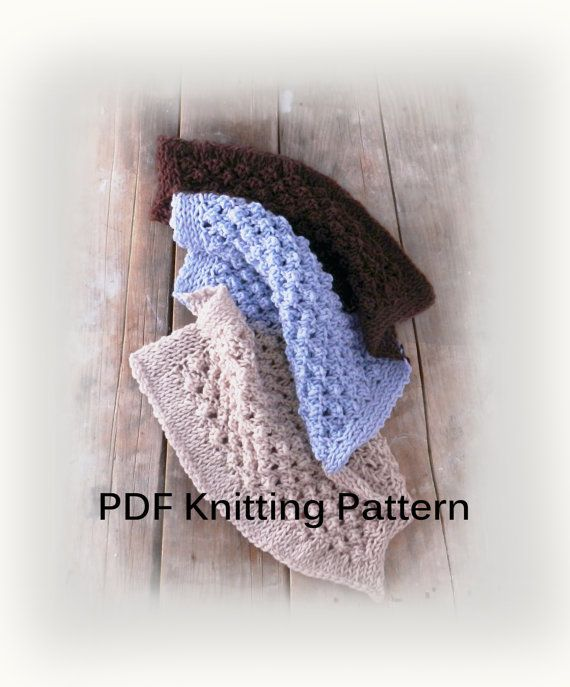 Knit Baby Blanket Pattern PDF Knitting Pattern by GabriCollection