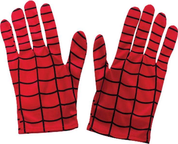 Costume Accessory: Spiderman Gloves - 4 UNITS