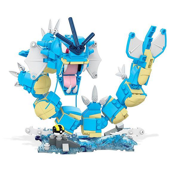 Mattel Mega Construx Pokemon Set Gyarados #Pokemon #Toys