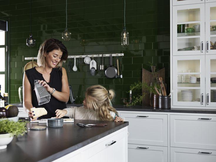 Köksinspiration -  Vitt kök - Gastro vit ask