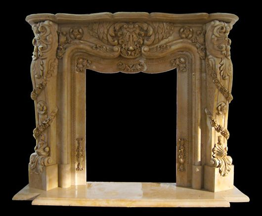 ornate fireplace marble fireplace floral carvings artisan kraft - 17 Best Images About French Marble Fireplace Mantel Surrounds On